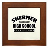 'Breakfast Club School' Framed Tile