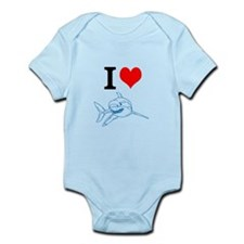 Unique Shark boy Infant Bodysuit