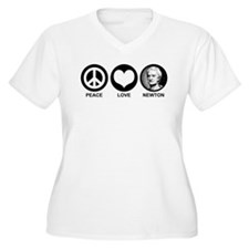Peace Love Newton T-Shirt