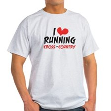 I heart (love) running CC T-Shirt