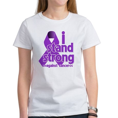 I Stand Pancreatic Cancer Women's T-Shirt