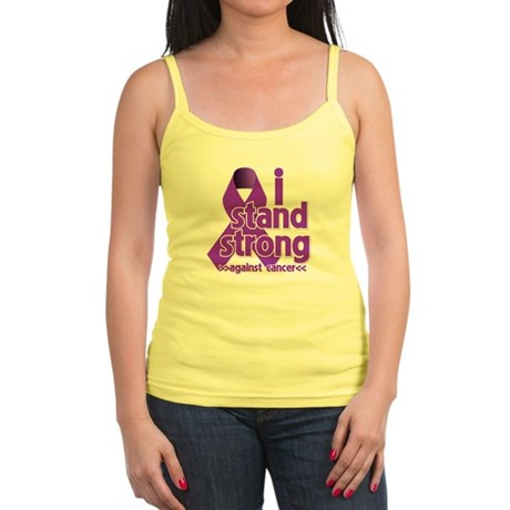 I Stand Pancreatic Cancer Jr. Spaghetti Tank