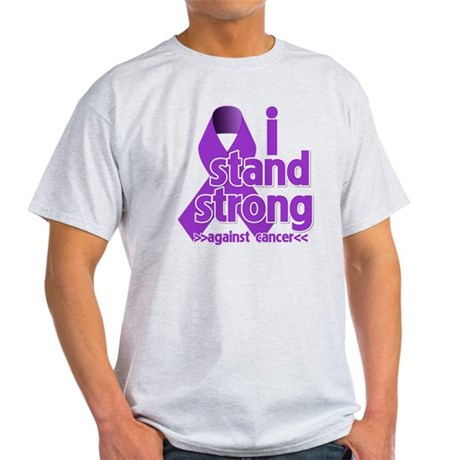 I Stand Pancreatic Cancer Light T-Shirt