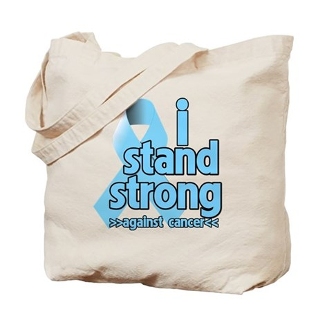 I Stand Prostate Cancer Tote Bag