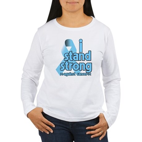 I Stand Prostate Cancer Women's Long Sleeve T-Shir