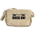 Rock On Messenger Bag