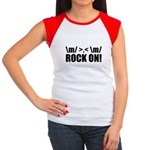 Rock On Women's Cap Sleeve T-Shirt