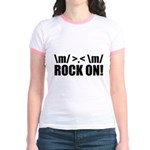 Rock On Jr. Ringer T-Shirt