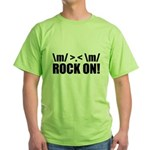 Rock On Green T-Shirt