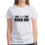 Rock On Women's T-Shirt