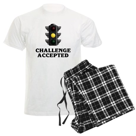 Challenge Accepted Men's Light Pajamas