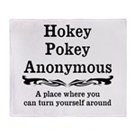 Hokey Pokey Throw Blanket