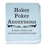 Hokey Pokey baby blanket