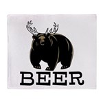 Beer Throw Blanket