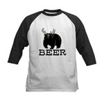 Beer Kids Baseball Jersey