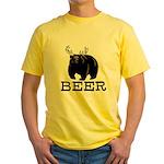 Beer Yellow T-Shirt
