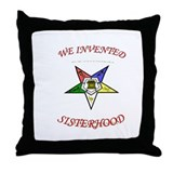 Cute Sister Throw Pillow