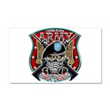 US Army Combat Engineer Shiel Car Magnet 20 x 12