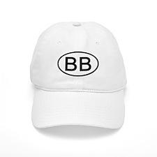 BB - Initial Oval Baseball Cap