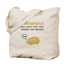 Hedgehogs Tote Bag