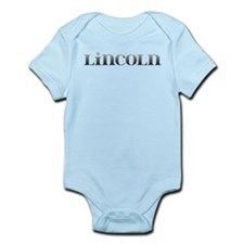 Lincoln Carved Metal Infant Bodysuit