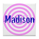 Personalized Madison Tile Coaster