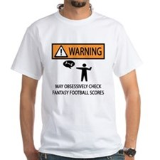 Checks Fantasy Football Scores Shirt