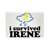 I Survived Irene Rectangle Magnet (100 pack)