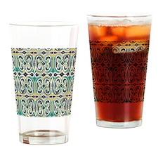Adinkra Pattern Drinking Glass