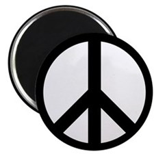 "Peace Sign 2.25"" Magnet (10 pack)"