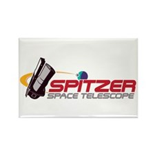 Cute Spitzer space telescope Rectangle Magnet (100 pack)