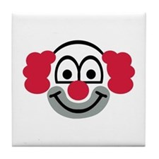 Clown face Tile Coaster