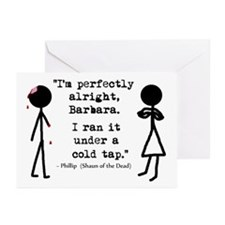 'Shaun of the Dead Quote' Greeting Cards (Pk of 10