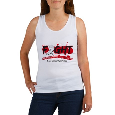 Fight Lung Cancer Cause Women's Tank Top