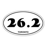 Toronto Marathon Decal
