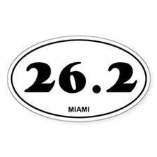 Miami Marathon Decal