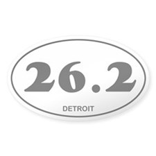 Detroit Marathon Decal