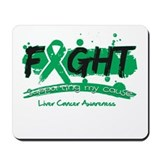 Fight Liver Cancer Cause Mousepad