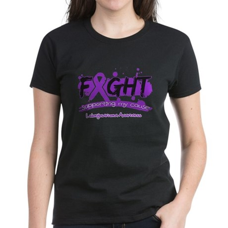 Fight Leiomyosarcoma Cause Sh Women's Dark T-Shirt