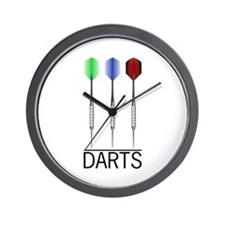 3 Darts Wall Clock