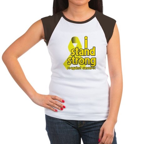 I Stand Strong Sarcoma Women's Cap Sleeve T-Shirt