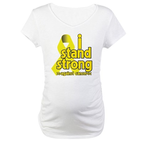 I Stand Strong Sarcoma Maternity T-Shirt