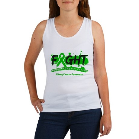 Fight Kidney Cancer Cause Women's Tank Top