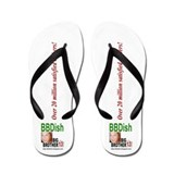 BB13 - Big Brother Dish Flip Flops