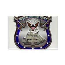 US Navy Shield and Eagle Rectangle Magnet (10 pack