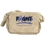 Fight Esophageal Cancer Cause Messenger Bag