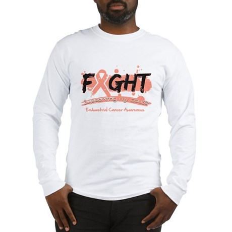 Fight Endometrial Cancer Long Sleeve T-Shirt