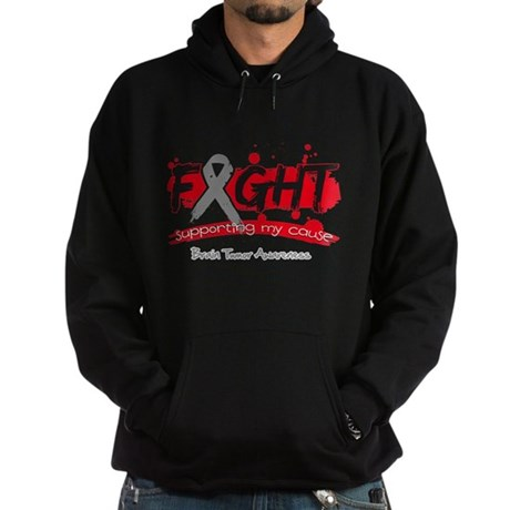 Fight Brain Tumor Cause Hoodie (dark)