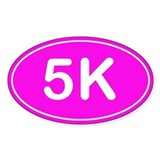 5K *pink* Decal