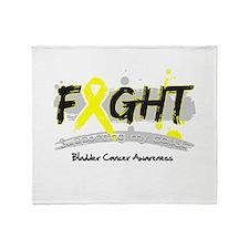 Fight Bladder Cancer Cause Throw Blanket